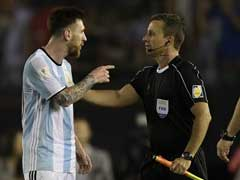 Messi Banned From World Cup Qualifiers For Abusing Match Official