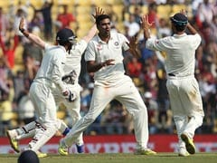 1st Test Live: Ashwin, Mishra Take India Closer To Victory