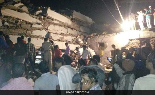10 Feared Dead As 6-Storey Building Collapses In Hyderabad