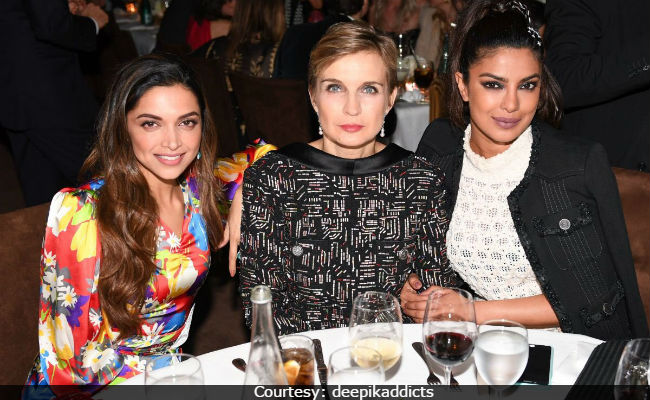 Deepika Spotted With Priyanka At Oscars 2017 Pre-Party