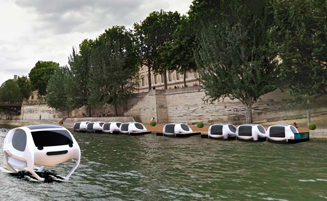 Coming Soon: SeaBubbles, The 'Flying' Water Taxi