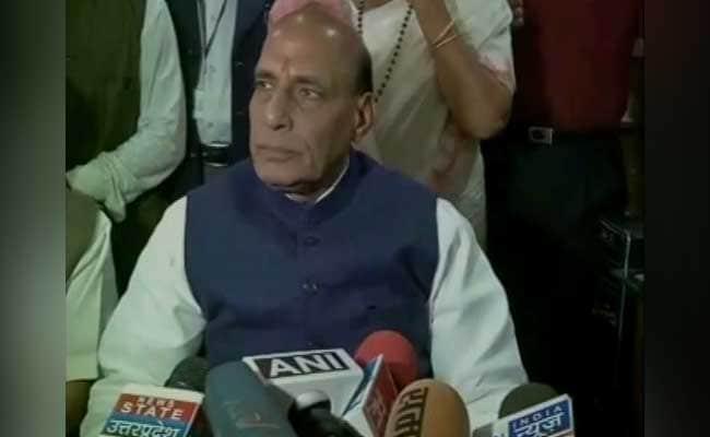 जेएनयू विवाद : गृहमंत्री राजनाथ सिंह ने कहा, 'घटना को लश्कर के मुखिया हाफ़िज का समर्थन हासिल'