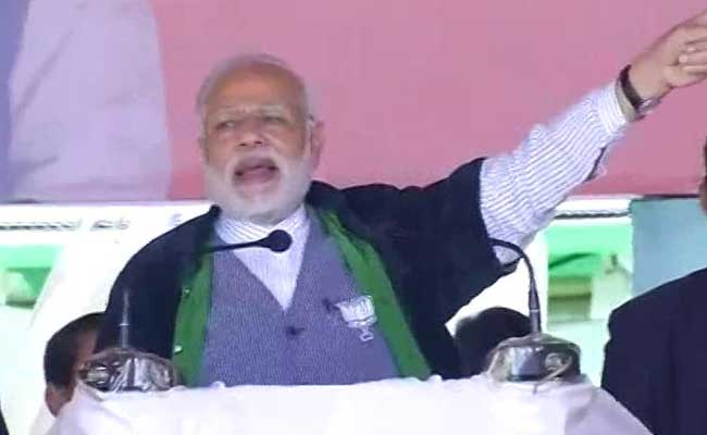 What Congress Didn't Do In 15 Yrs In Manipur, BJP Will In 15 Months: PM Modi