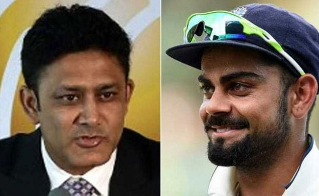 What Did Kumble Tell Dhoni, Kohli After Becoming India Head Coach