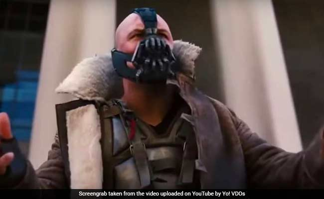 In Donald Trump's Inauguration Speech, Some See Similarities To Batman Villain 'Bane'