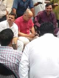 Police Release Manish Sisodia, 52 AAP Legislators Detained This Morning