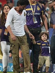 KKR Won But Man Of The Match Was SRK's 3-Year-Old Son AbRam