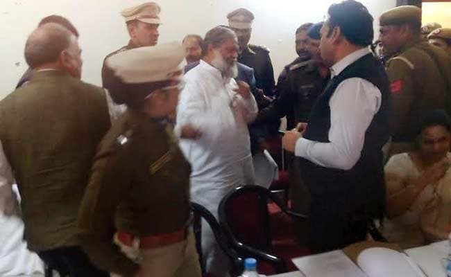 Woman Cop Transferred After Heated Exchange With Haryana Minister Anil Vij