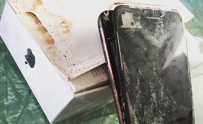 After Samsung's Note 7, Apple's iPhone 7 Plus in an 'Explosive' Incident