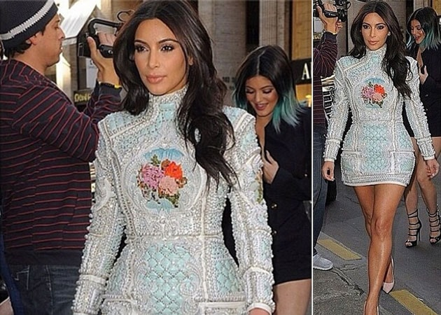 Kim Kardashian Paris Wedding Dress