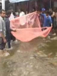 In IT City Bengaluru, Boats On Roads, People Seen Fishing After Heavy Rain