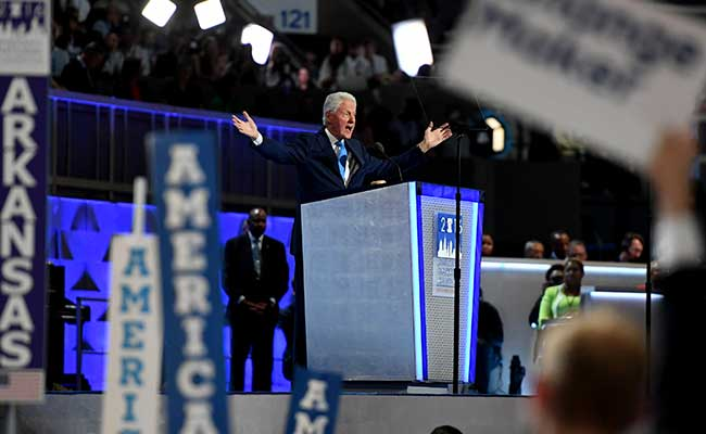 'I Met A Girl': Bill Clinton Delivers The Speech No One Else Could