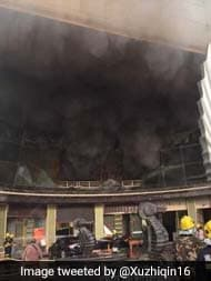 Huge Fire At Luxury Hotel In China, Many Feared Trapped: Reports