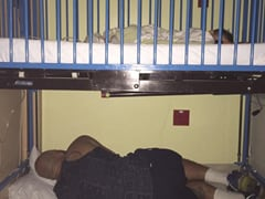 The Story Behind This Viral Pic of Dad Sleeping Under Sick Child's Bed