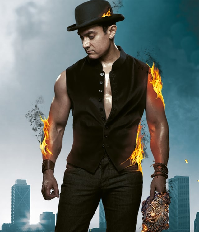 Pics For > Aamir Khan Dress In Dhoom 3