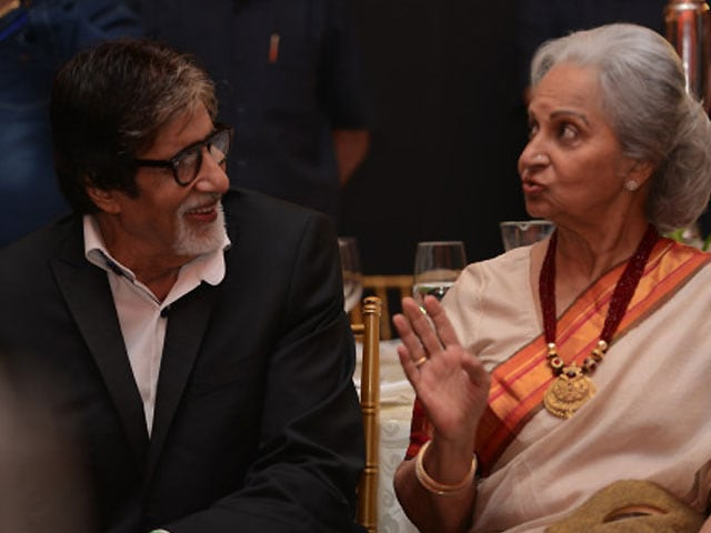 Image result for bachchan and waheeda rehman