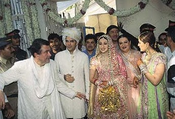 Their Wedding Was A Much Covered Event Ms Kapoor At The Time Sought After E And Film Industry S Most Famous Personalities Attended