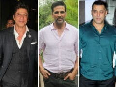 Akshay Kumar And A Khan Are Among World's 10 Highest-Paid Actors