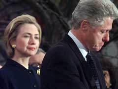 On Husband's Conduct, Hillary Clinton Walks A Fine Line