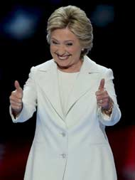Love Trumps Hate, Says Hillary Clinton, Vows To Be President For 'All Americans'