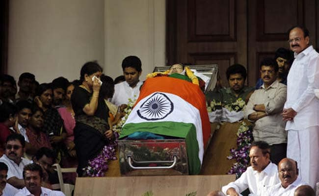 Ahead of Jayalalithaa's Funeral, PM Modi Heads To Chennai: 10 Points