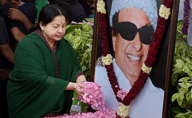 'For 2 Days, Jayalalithaa Stood By MGR's Body. She Did Not Shed A Tear.'