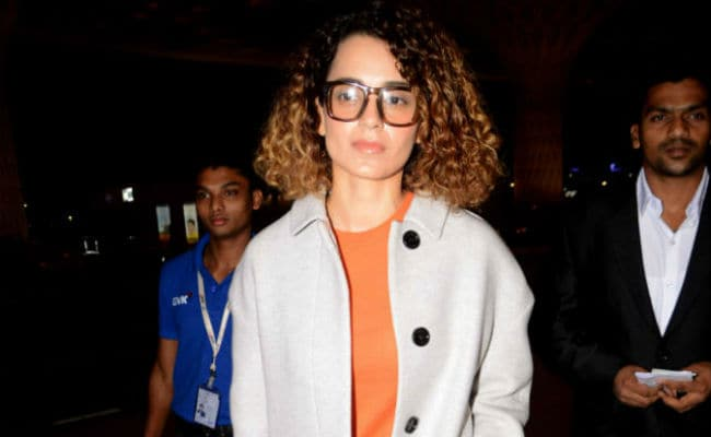 Kangana Ranaut Made Do With Some Rocks As Her Green Room On Rangoon Sets