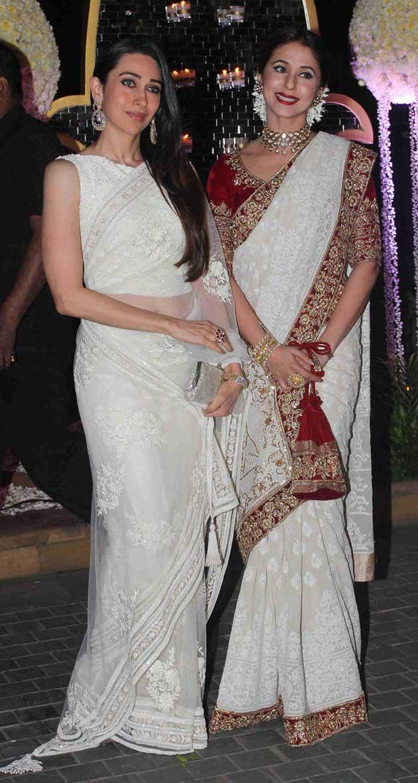 Riddhi Malhotras Wedding Sridevi Madhuri Priyanka Karisma Wear Manish Malhotra
