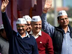 Arvind Kejriwal Waits For A Call From Delhi As His Government Completes One Year