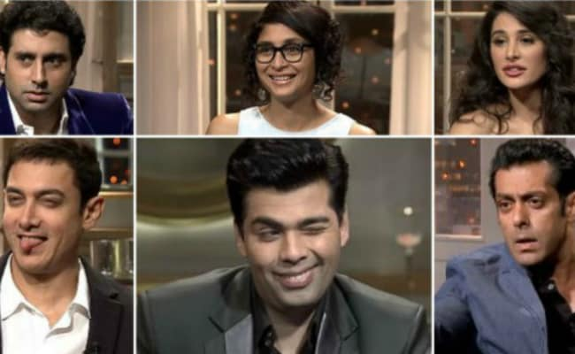 Karan Johar's Guests Perform The Koffee Rap In This Funny Video. Seen Yet?