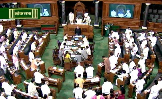 25 Congress Lawmakers Suspended From Lok Sabha, Sonia ...