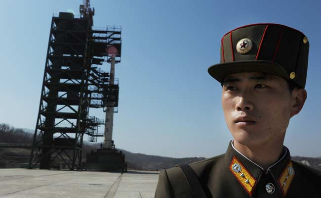 North Korea Launches Space Rocket In Defiance Of Sanctions Threat