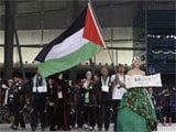Palestinian 'Battle' to Get to Incheon