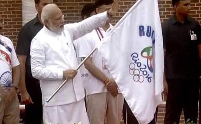 PM Modi Flags Off 'Run For Rio', Says 'Indian Athletes Will Surely Shine'