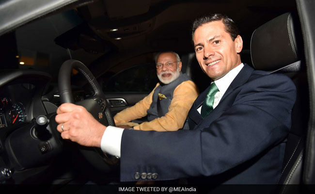 Mexico OKs India For Nuke Club NSG, President Drives PM Narendra Modi To Dinner