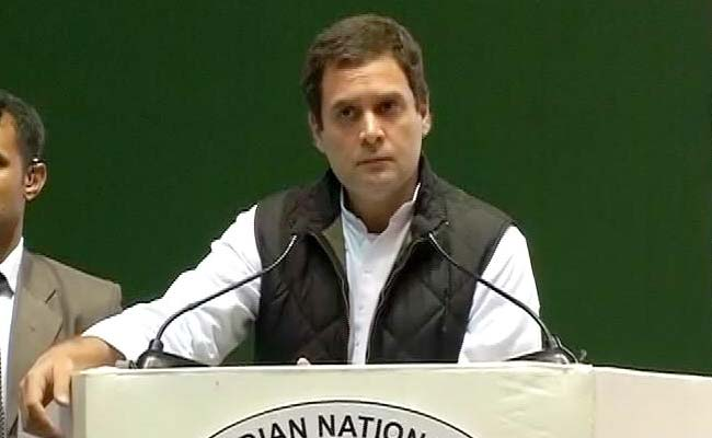 'Achhe Din' Will Come When Cong Back In Power, Says Rahul