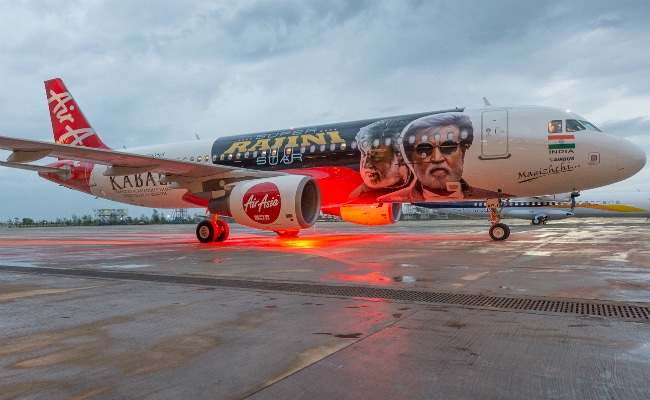 This Kabali-Special Plane Will Take Off With Rajinikanth's Film. See Pics