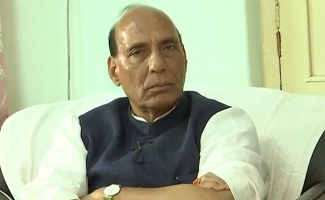 Without Akhilesh-Congress Alliance, BJP Would Cross 300: Rajnath Singh To NDTV