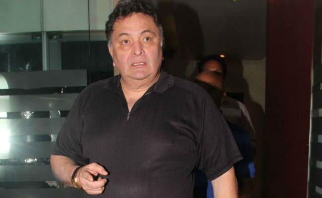 When Complimenting Rishi Kapoor's Film, At Least Get The Name Right