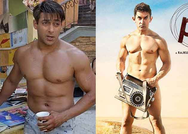 Aamir Khan hits back on SRKs comments on PK poster