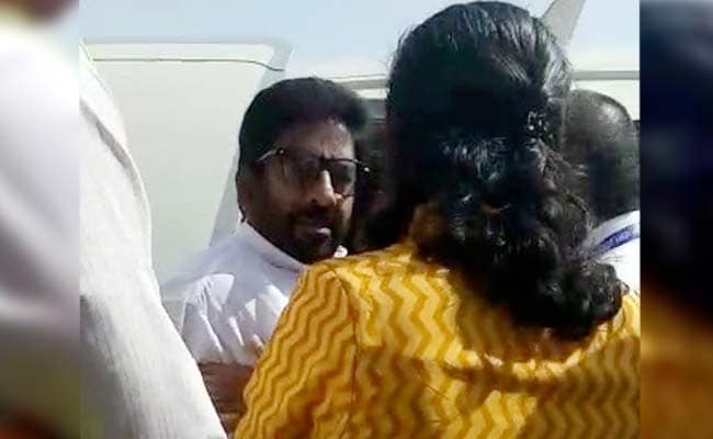 'Don't, Don't, Don't!' Sena MP's Assault Of Air India Staffer On Camera