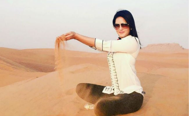 Pics - In Dubai With Sunny Leone: Here's Her Holiday Album
