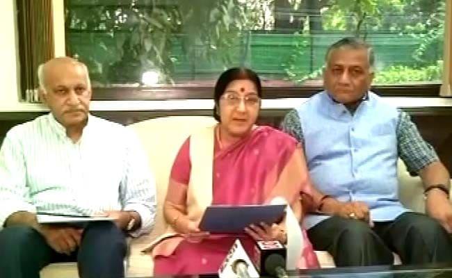 सुषमा स्वराज का नवाज़ शरीफ़ को करारा जवाब, कहा - पाकिस्तान ने कश्मीर को आतंकवाद के अलावा कुछ नहीं दिया