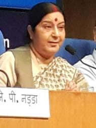 Sushma Swaraj, Of Steadfast Low Profile, Given A New Role Today
