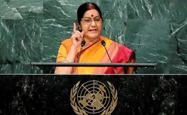 Sushma Swaraj's Speech Outwitted And Outshone Nawaz Sharif's - By Ashok Malik