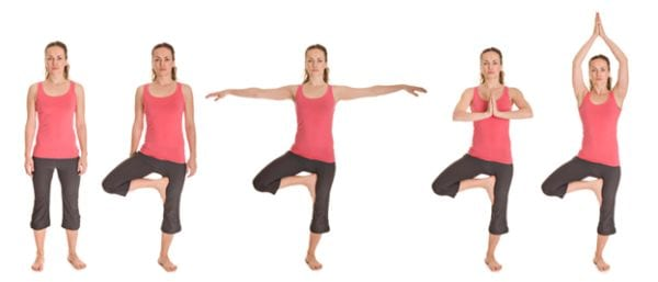 5 Vrikshasana Or The Tree Pose