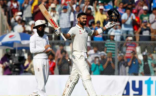 Kohli's Another Milestone - Becomes First India Captain To Score 3 Double Tons