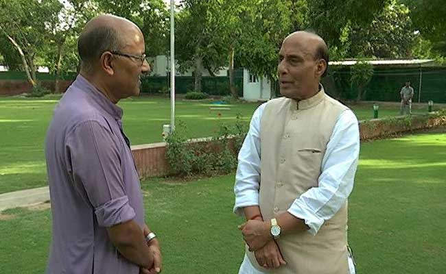 Home Minister Should Not Speak Much: Rajnath Singh To NDTV