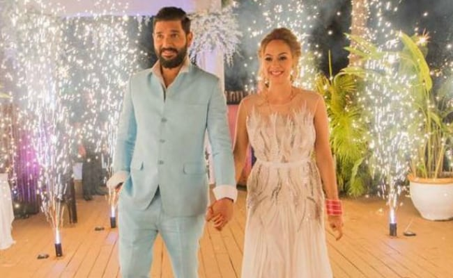 Mr And Mrs Yuvraj Singh's Goa Reception: Sugar, Spice And Everything Nice
