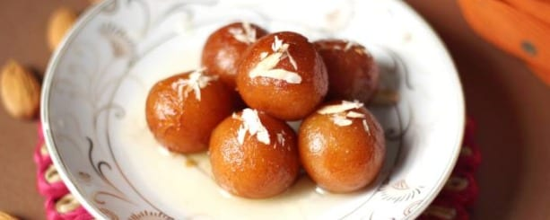 The old favorite made at home: Gulab jamun